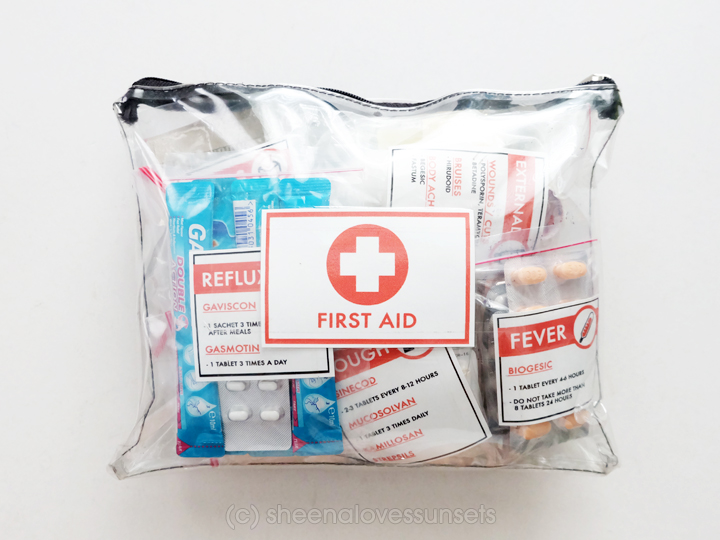 Tips Traveling Friends First Aid