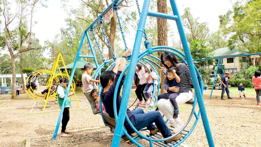 Baguio with a Toddler Burnham Park