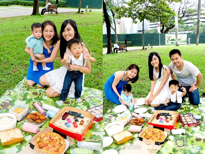 Picnic at Ayala Triangle Gardens