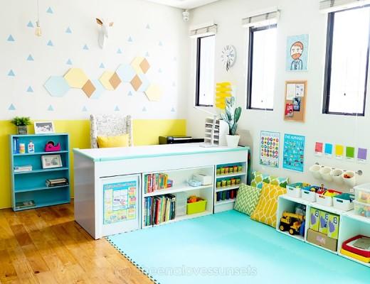 Studio Office Homeschool Room 2-min