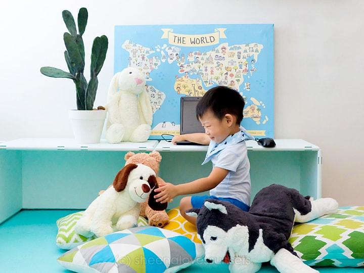 Studio Office Homeschool Room 20-min