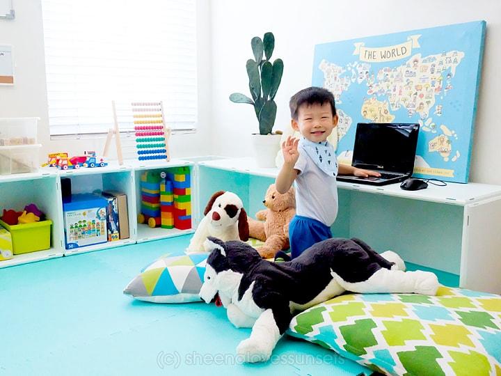 Studio Office Homeschool Room 21-min