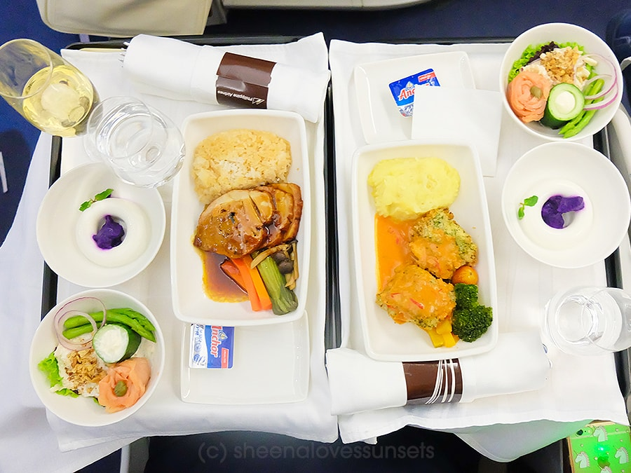 Philippine Airlines Business Class 10-min