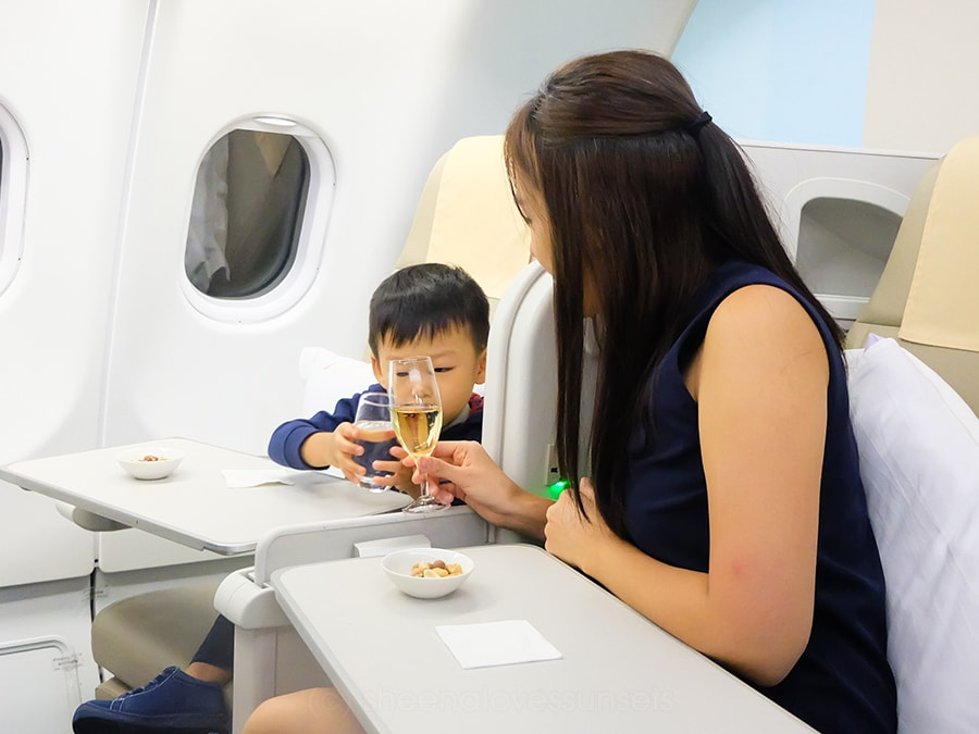 Philippine Airlines Business Class 12-min