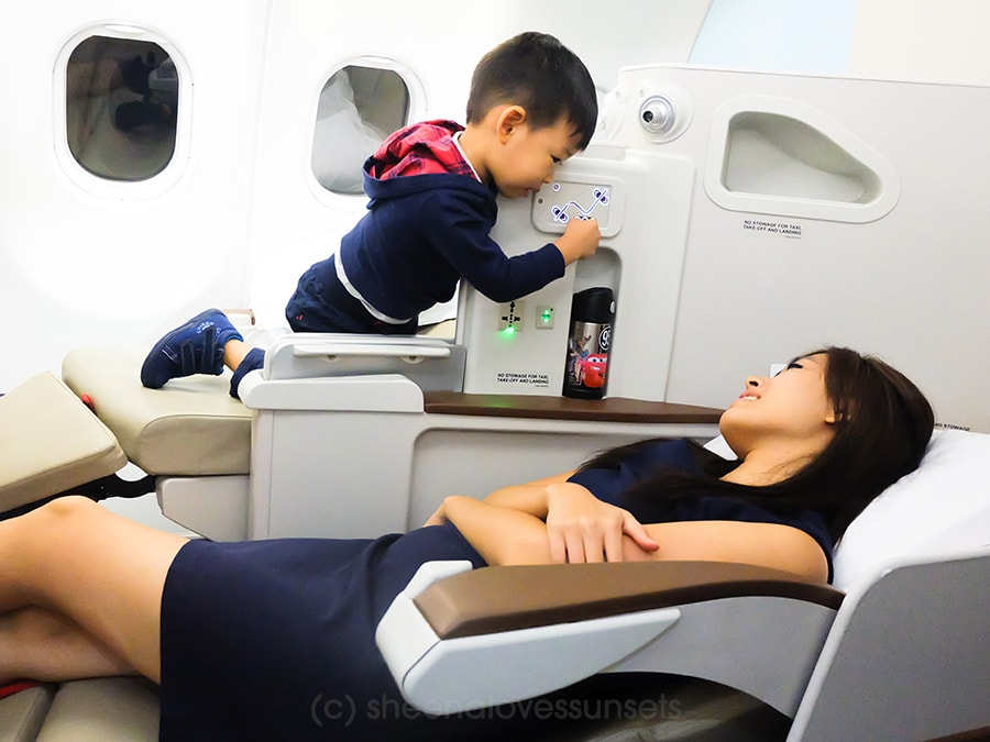 Philippine Airlines Business Class 2-min