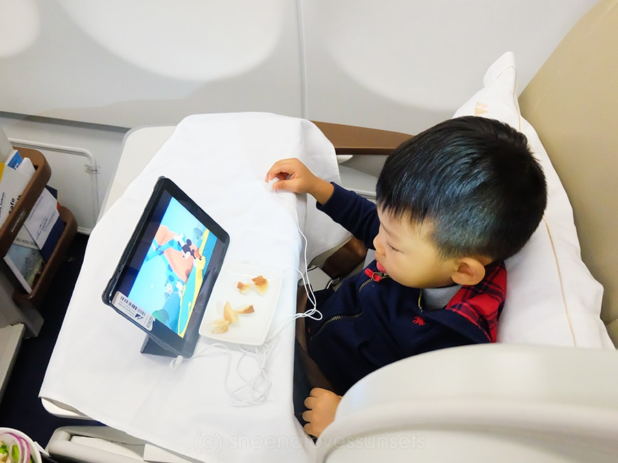 Philippine Airlines Business Class 5-min