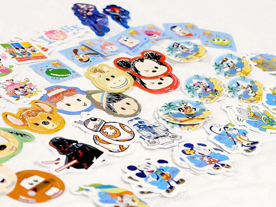 Hong Kong Disneyland Toddler Stickers