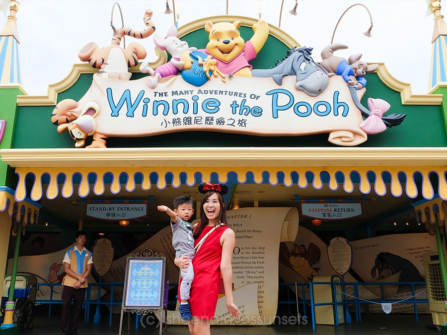 Rides Attractions Toddler Hong Kong Disneyland Winnie the Pooh