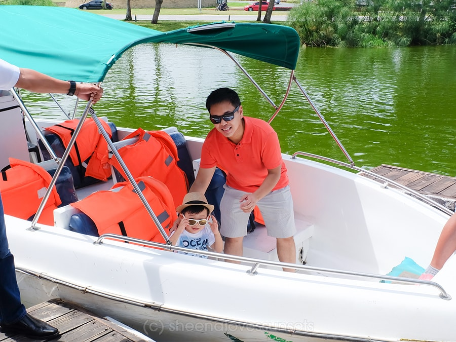 Boating Fish Feeding Nuvali Seda