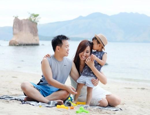 first beach trip Philippines